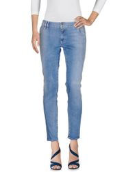 Gas - Denim Trousers - Lyst