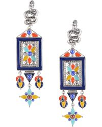 Roberto Cavalli - Earrings - Lyst