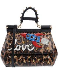bc54a27a5059 Lyst - Dolce   Gabbana Handbag in Red