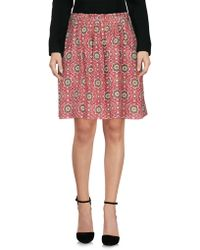 Pedro Del Hierro Madrid - Knee Length Skirt - Lyst