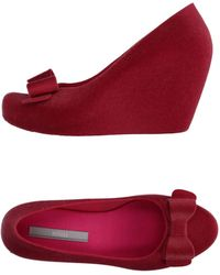 Melissa - Wedge Court Shoes - Lyst