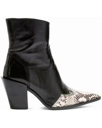 TOPSHOP - Howdie High Ankle Boots - Lyst