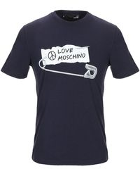 Love Moschino - T-shirt - Lyst