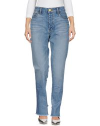 Tory Burch - Denim Pants - Lyst
