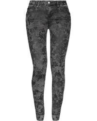 Guess - Denim Trousers - Lyst