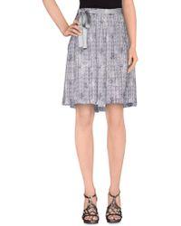 Trussardi | Knee Length Skirts | Lyst