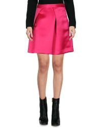check out 88139 15a0f Women's P.A.R.O.S.H. Mini skirts Online Sale - Lyst