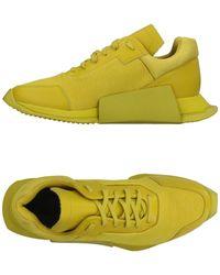 Rick Owens Low Sneakers & Tennisschuhe - Gelb