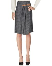 Alviero Martini 1A Classe - Knee Length Skirts - Lyst