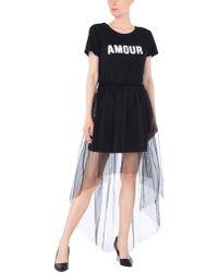 Please - Knee-length Dress - Lyst