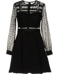 NJ COUTURE - Short Dress - Lyst
