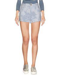 Twin Set - Denim Shorts - Lyst