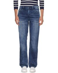 True Religion - Denim Trousers - Lyst