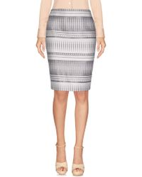Genny - Knee Length Skirt - Lyst
