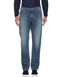 Woolrich - Denim Trousers - Lyst