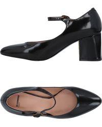 Jil Sander Navy - Court Shoes - Lyst