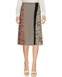 Siyu - 3/4 Length Skirt - Lyst