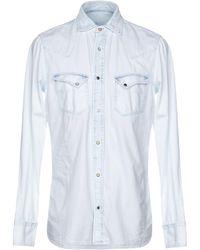 Pence - Denim Shirts - Lyst