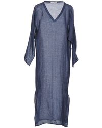 Denis Colomb - 3/4 Length Dress - Lyst