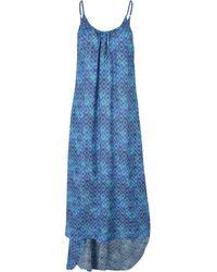 EA7 | 3/4 Length Dress | Lyst