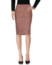 JC de Castelbajac - Knee Length Skirt - Lyst