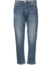 Officina 36 - Denim Trousers - Lyst