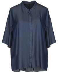 Manila Grace - Denim Shirt - Lyst