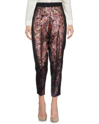 Pf Paola Frani - Casual Trousers - Lyst