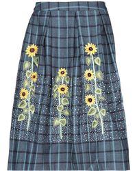 Rahul Mishra - 3/4 Length Skirt - Lyst