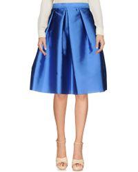 Annie P - Knee Length Skirts - Lyst