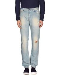C P Company - Denim Trousers - Lyst