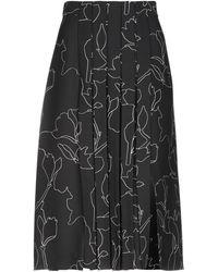 Carven - 3/4 Length Skirt - Lyst