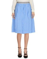 Department 5 - Knee Length Skirt - Lyst
