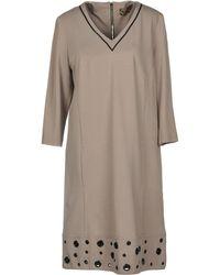 22 Maggio By Maria Grazia Severi - Short Dress - Lyst