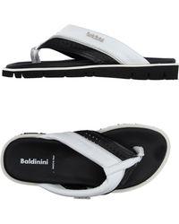 Baldinini - Toe Post Sandal - Lyst