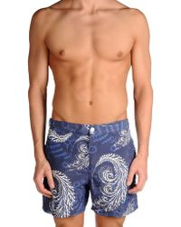 Façonnable - Swimming Trunks - Lyst