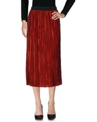 Jucca - 3/4 Length Skirts - Lyst