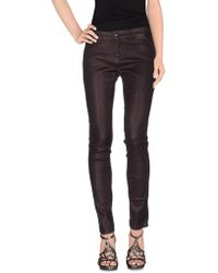 Notify - Denim Trousers - Lyst