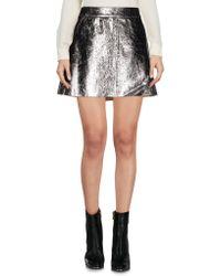 Twisty Parallel Universe - Mini Skirt - Lyst