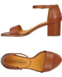 Veronique Branquinho - Mid Heel Sandals - Lyst