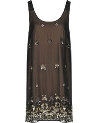 French Connection - Wednesday Stitch Maxi Dress - Lyst