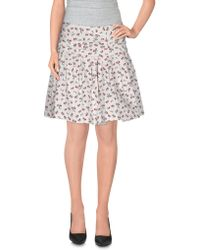 RED Valentino - Mini Skirt - Lyst
