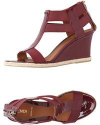 Fendi - Sandals - Lyst