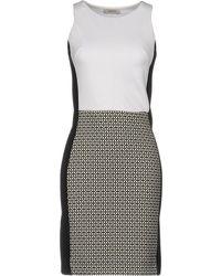 Alpha Studio - Short Dress - Lyst