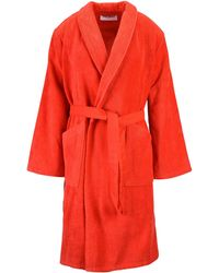 KENZO - Towelling Dressing Gown - Lyst