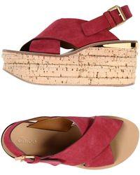 Chloé - Sandals - Lyst