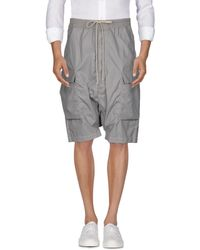 DRKSHDW by Rick Owens - Bermuda Shorts - Lyst