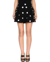 Boutique Moschino - Mini Skirt - Lyst