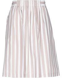 ROSSO35 - Knee Length Skirt - Lyst
