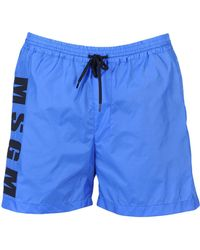 MSGM - Swim Trunks - Lyst